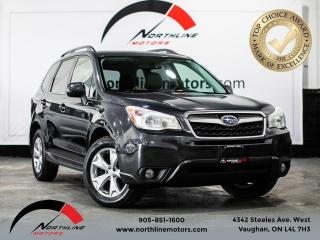 Used 2014 Subaru Forester Limited/Backup Camera/Pano Roof/Harman Kardon for sale in Vaughan, ON