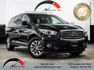 Used 2015 Infiniti QX60 7 Passenger/Navigation/360 Camera/Heated Leather for sale in Vaughan, ON
