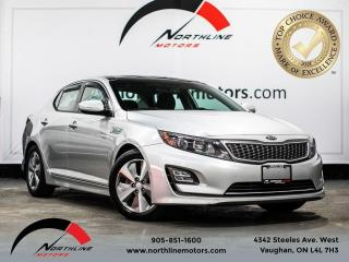 Used 2014 Kia Optima EX Hybrid/Backup Camera/Pano Roof/Heated Seats for sale in Vaughan, ON