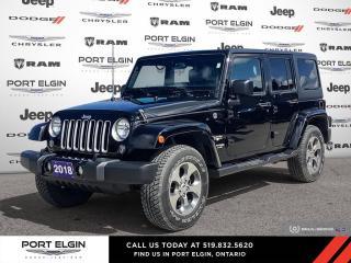 Used 2018 Jeep Wrangler JK Unlimited Sahara for sale in Port Elgin, ON