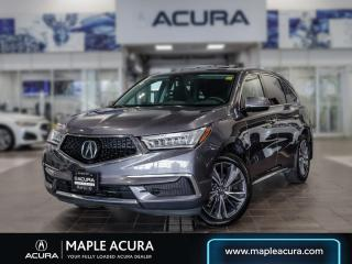 Used 2019 Acura MDX Tech, One owner, No accidents. for sale in Maple, ON