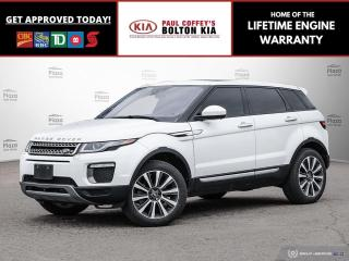 Used 2016 Land Rover Evoque HSE for sale in Bolton, ON