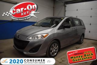 Used 2017 Mazda MAZDA5 50,000 km | 3rd row seat | LEATHER WRAPPED STEERIN for sale in Ottawa, ON