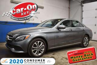 Used 2018 Mercedes-Benz C 300 4Matic NAVIGATION | DRIVE ASSIST black ash | PANO SUNROOF for sale in Ottawa, ON