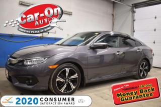 Used 2016 Honda Civic Touring 1.5L Turbo | LEATHER | NAVIGATION | FRONT & REAR H for sale in Ottawa, ON