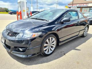 Used 2009 Honda Civic 2dr Man Si !   Sun-Roof   Loaded  Extra Tires On R for sale in Mississauga, ON