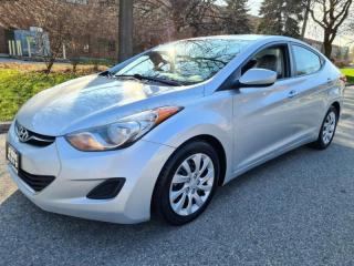 Used 2013 Hyundai Elantra 4dr Sdn GLS   Loaded for sale in Mississauga, ON