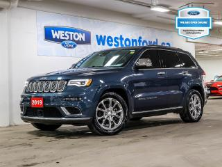 Used 2019 Jeep Grand Cherokee SUMMIT+CAMERA+NAVIGATION+REMOTE STARTER+LEATHER for sale in Toronto, ON