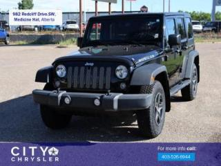Used 2014 Jeep Wrangler Unlimited Rubicon for sale in Medicine Hat, AB