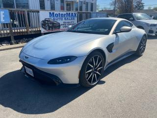 Used 2019 Aston Martin Vantage Coupe- SOLD SOLD for sale in Stoney Creek, ON