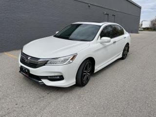 Used 2017 Honda Accord Sedan 4dr V6 Auto Touring for sale in North York, ON