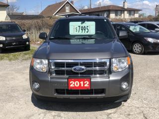 Used 2012 Ford Escape XLT for sale in Hamilton, ON