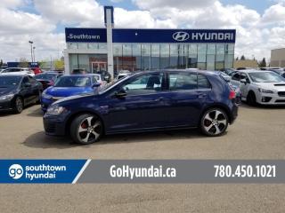 Used 2017 Volkswagen Golf GTI Autobahn/FENDER AUDIO/SUNROOF/ADAPTIVE CRUISE for sale in Edmonton, AB
