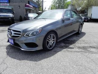 Used 2016 Mercedes-Benz E400 4MATIC E400 Fully Loaded No Accidents for sale in Windsor, ON