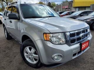 Used 2011 Ford Escape XLT/4WD/V6/LEATHER/FOGS/LOADED/ALLOYS for sale in Scarborough, ON