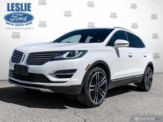 Used 2018 Lincoln MKC Reserve for sale in Harriston, ON