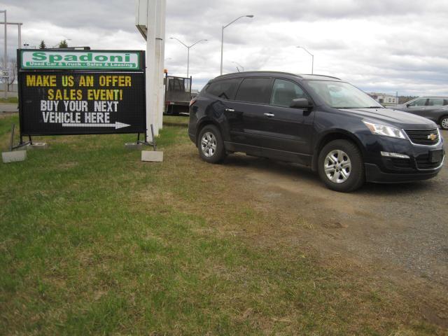 2015 Chevrolet Traverse Make us an offer