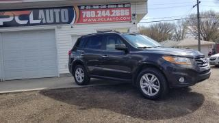 Used 2011 Hyundai Santa Fe Limited w/Navi for sale in Edmonton, AB