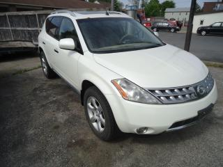 Used 2007 Nissan Murano 4D for sale in Sarnia, ON