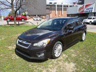 Used 2012 Subaru Impreza 2.0i w/Touring Pkg ~ SUNROOF ~ WINTER TIRES for sale in Toronto, ON