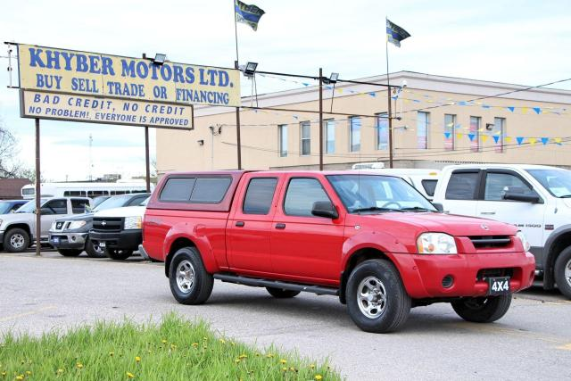 2004 Nissan Frontier XE 4X4 Long Bed