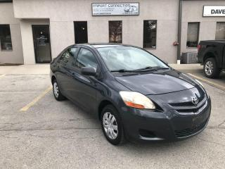 Used 2007 Toyota Yaris 4D SEDAN,5 SPD.MANUAL with A/C,CERTIFIED! for sale in Burlington, ON