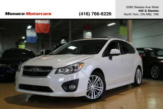 Used 2013 Subaru Impreza 5DR HB - SUNROOF|HEATED SEATS|ALLOYS|BLUETOOTH for sale in North York, ON