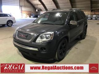 Used 2011 GMC Acadia 4D Utility AWD for sale in Calgary, AB