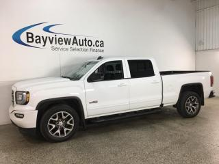 Used 2018 GMC Sierra 1500 SLT - ALL TERRAIN! 6.2L! LTHR! ROOF! CREW! 20