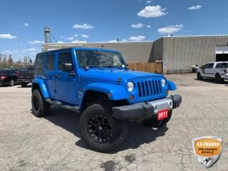 Used 2011 Jeep Wrangler Unlimited Sahara 3.8L V6 | DUAL TOP | VOICE ACTIVATION for sale in Kitchener, ON