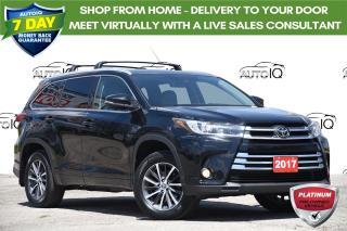 Used 2017 Toyota Highlander XLE LEATHER | MOONROOF | NAV | 3.5L V6 for sale in Kitchener, ON