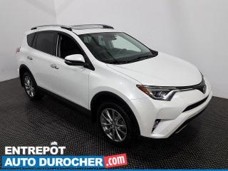 Used 2017 Toyota RAV4 Limited - Navigation - Bluetooth - Climatiseur for sale in Laval, QC