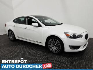 Used 2015 Kia CADENZA Navigation - Toit Ouvrant - Climatiseur - Cuir for sale in Laval, QC