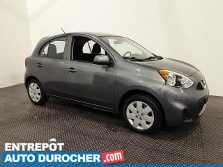 Used 2017 Nissan Micra S ÉCONOMIQUE - AUTOMATIQUE - AIR CLIMATISÉ for sale in Laval, QC