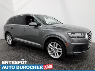 Used 2017 Audi Q7 3.0T TECHNIK - AWD - 7 Passagers - Navigation for sale in Laval, QC
