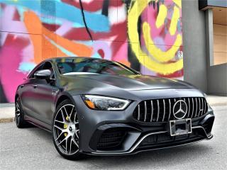 Used 2019 Mercedes-Benz AMG GT AMG GT 63S|V8 BI-TURBO|CARBON FIBRE INTERIOR|DIGITAL CLUSTER for sale in Brampton, ON