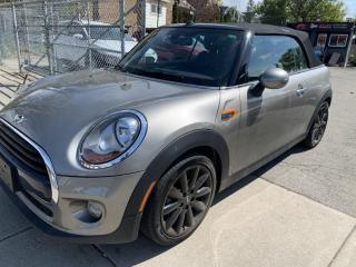Used 2018 MINI Cooper CONVERTIBLE Cooper FWD for sale in Hamilton, ON