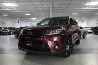 Used 2017 Toyota Highlander SE AWD I NAVIGATION I REAR CAM I LEATHER I SUNROOF I BT for sale in Mississauga, ON