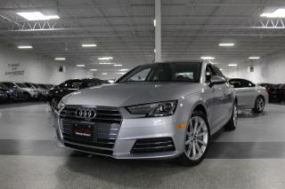 Used 2017 Audi A4 PROGRESSIV I NAVIGATION I BLIND SPOT I REAR CAM I SUNROOF for sale in Mississauga, ON