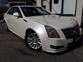 Used 2010 Cadillac CTS 3.0L Luxury AWD - LEATHER! PANO ROOF! BLUETOOTH! ONLY 95KM! for sale in Kitchener, ON