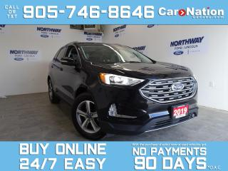 Used 2019 Ford Edge SEL | AWD | NAV | 18'' RIMS | NEW CAR TRADE for sale in Brantford, ON