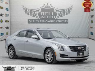 Used 2017 Cadillac ATS Sedan Luxury, AWD, NAVI, REARCAM, SUNROOF, BLUETOOTH for sale in Toronto, ON
