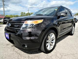 Used 2013 Ford Explorer Limited | Navigation | Cooled Seats | Adaptive Cruise Control for sale in Essex, ON