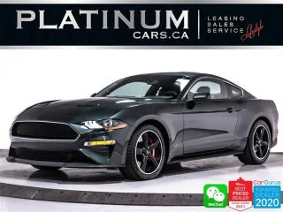 Used 2020 Ford Mustang BULLITT, V8, 480HP, MANUAL, CAM, HEATED, BT for sale in Toronto, ON