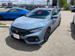 Used 2017 Honda Civic Hatchback Sport Touring for sale in Waterloo, ON