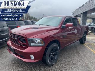 Used 2018 RAM 1500 Sport  - Bluetooth -  SiriusXM -  Fog Lamps for sale in Bracebridge, ON