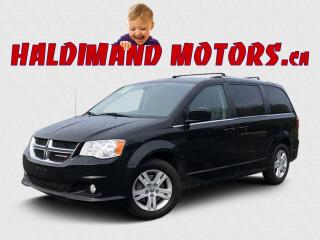 Used 2019 Dodge Grand Caravan Crew for sale in Cayuga, ON
