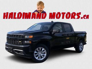Used 2020 Chevrolet Silverado 1500 CUSTOM CREW 4WD for sale in Cayuga, ON