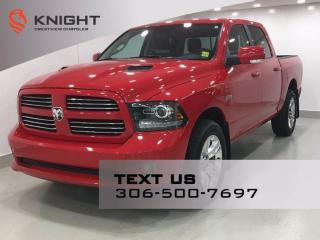 Used 2017 RAM 1500 Sport Crew Cab | Leather | Sunroof | Navigation | for sale in Regina, SK