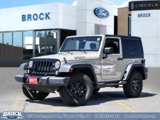 Used 2017 Jeep Wrangler Willys Wheeler for sale in Niagara Falls, ON